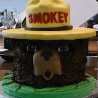 Smokey The Bear Smokey the Bear's head.