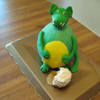 Dinosaur Cake My take on the Debbie Brown cake