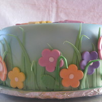 Live, Laugh, Love Spring Cake This cake was for an office gathering. No specfic directions for me to go in, just the inscription of Live, Laugh, Love on it. I love the...