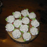 Rose Cupcakes Thanks to all the help on the boards. I'm not much of a poster, just an everyday lurker and learner.