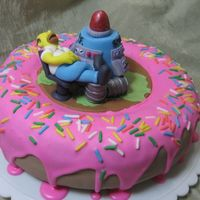 Sleeping Homer My DH wanted a Simpsons cake to take to work, preferably with a nuclear plant theme. I got the idea for the topper from a lava lamp, but I...