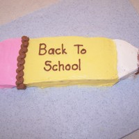 Brownie Pencil Every year I make this simple brownie pencil for the first day of school dessert. I did this pretty quickly as it is just for us. Kids look...