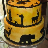 Hunting Birthday Cake Made this for my husband for his birthday this year