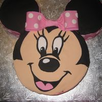 Minnie Mouse Birthday Cake Made this cake for my niece's first birthday. My sister loved it (I suspect it was more for her than my niece, as she's loved...