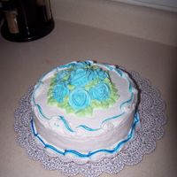 Course I Final Cake Chocolate Cake/Vanilla Buttercream Icing