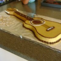 Ukulele Cake For Fathers Day This is my first attempt at a 3-D cake I made yesterday for Father's Day. He plays the ukulele (hawaiian name for an instrument...