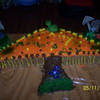 Mushroom I made this mushrrom and lilly pad cake for my mother-n-law for Mother's day, since she collects mushroom.