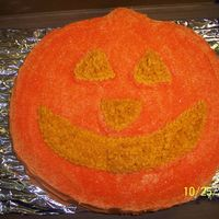 Lack-O-Lantern I done this for my daughter's girl scout troop halloween party.