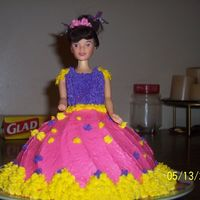 Doll Cake I made this doll cake for my mammaw for Mother's Day. Since she collects Barbie dolls.