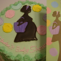 I Think Its Cute   Cake made to match the invitation.
