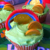Pot Of Gold Cupcakes For something different, I made these little Pot of Gold cupcakes at St. Patrick's Day. :) They would be fun any time of year though...