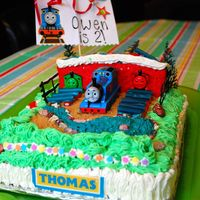 Thomas The Train - Tidmouth Shed Cake