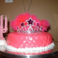 Princes Cake  Make for a friend who is like a real life barbie!I made this cake in a matter of hours (from mixing the cake from scratch to lighting the...