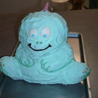 Dino Cake   I did this as a practice run for my friend's son's birthday. He wanted dinosaurs and dinosaurs he shall have!