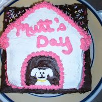 Happy Mutts Day!  My entire office celebrated National Mutts Day. I don't recall the date, but everyone I work with have rescues and I figured a cake...