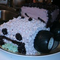 Jeep Cake This is my first attempt at a Jeep. It's 3 layers of yellow cake with vanilla pudding in between (birthday boy's request). The...