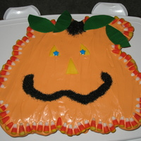Jack The Pull A Part Pumpkin Cupcake cake for school.