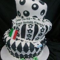 Black And White Topsy MMF covered with accents.