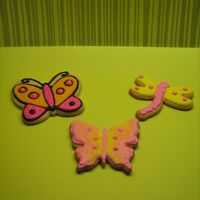 Butterflies And Dragonflies   NFCS with royal icing.