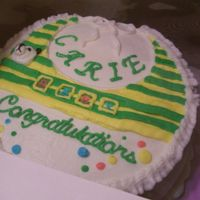 Carie's Baby Shower Cake