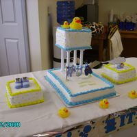 Ducky & Laundry This is my daughters baby shower cake I made her. She liked rubber ducks, & I wanted to do a tier cake. I decorated these cakes all in...