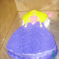 Barbie Cake I lost the plastic Barbie that goes on the cake, so I made one with candy melts. It turned out ok. I thought if anyone else had lost the...