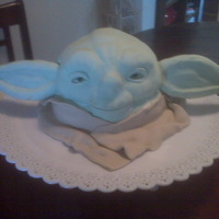 Logie's Yoda Hand carved Yoda with RKT ears.