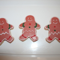 Gingerbread Boy Cookies