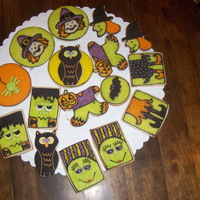 Halloween Cookies These are for a cookie bouquet