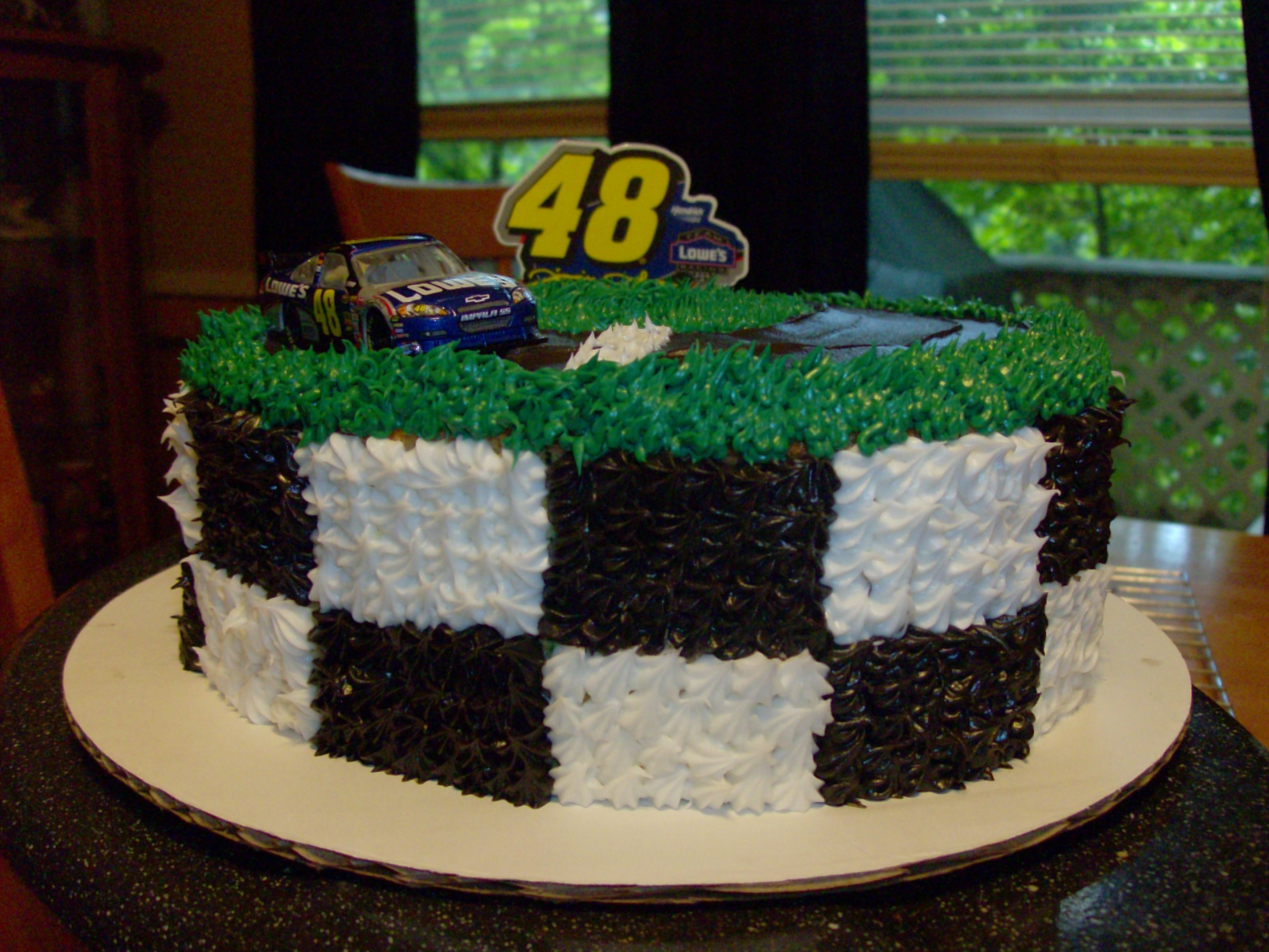 jimmie johnson birthday cake Cake Gallery on Cake Central