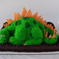 Dinosaur Cake Made for a friend's son who was turning 5.