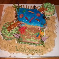 A Day At The Lake This is a cake I made as a surprise for an old friend who was having a family reunion at her lake house near me. I am still a beginner and...