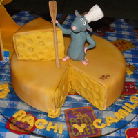Ratatouille Cheese I made this for two of my best friends, they're a couple who has their birthdays in the same week. Since he's s a Chef they had a...