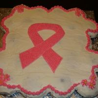 Breast Cancer Cupcakes Cake Chocolate cupcakes cover with butter cream icing