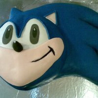 Sonic Cake This is a cake I made for my son's 11th birthday. I've been afraid to make a Sonic cake for a couple years now but I finally got...