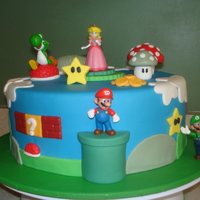 Super Mario Cake With Some 3D