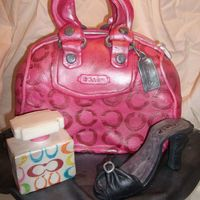 Coach Purse - Birthday Cake I turned 30 last week & I decided to put together my two favorite things - purses & cake! This was my second purse cake. I'm...