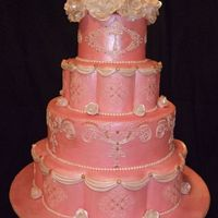 State Fair Wedding Cake This is the cake I entered for the NC State Fair in the non-professional wedding cake competition. This was my first competition. I had not...