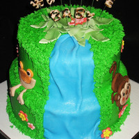 Rainforest Baby Shower  i did this one super last minute so i really didn't hve time to do what all i wanted :( i think it could have been so much better, but...