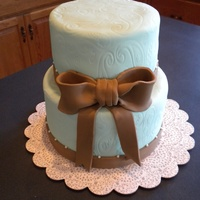 Two Tier Simple Blue
