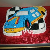 Race Cake Cake   Ray's Birthday Cake.