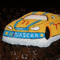 Nascar Cake   Joe's Birthday Cake.