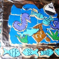 Happy Birthday   This was my first attempt at a cut out cookie gram!! It was a lot of fun and well received.