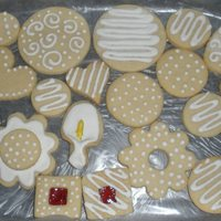 Simple  I like to keep things simple occasionally. My girl friend enjoyed these cut-out sugar cookies at her bridal shower. I was amazed at what an...