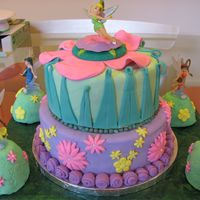Tinkerbell Cake For 4Th Birthday
