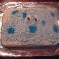 Blues Clues my first blues clues cake, i free handed this one, not too bad, client loved it. that's all the mattered.