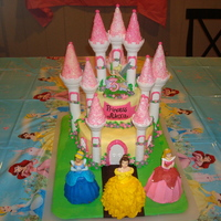 Castle Cake For my daughter's 3rd birthday. I used the Wilton kit.