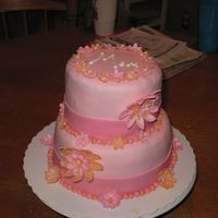 Img_0876.jpg  I made this for my mom's bday, my first tiered cake and I tried to take a short cut because I was really busy that weekend (I only...