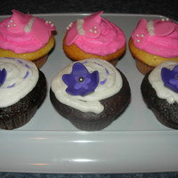 Girl Birthday Cupcakes