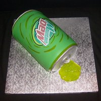 Soda fondant covered with edible image